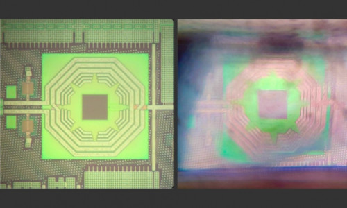 MIT researchers have fabricated a diamond-based quantum sensor on a silicon chip